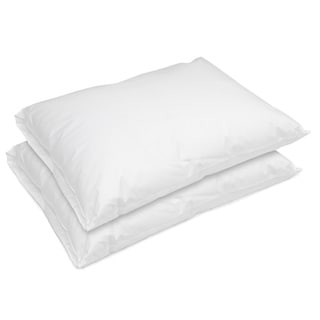 Hotel Laundry Breathable Waterproof Pillow (Set of 2) - White