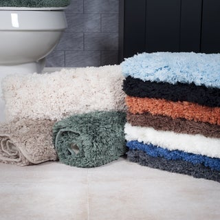 Windsor Home 3-piece Soft and Plush Washable Bath Rug Set