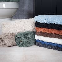 Windsor Home 3-piece Plush Non-slip Bath Rug Set