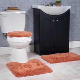 Windsor Home 3-piece Soft and Plush Washable Bath Rug Set