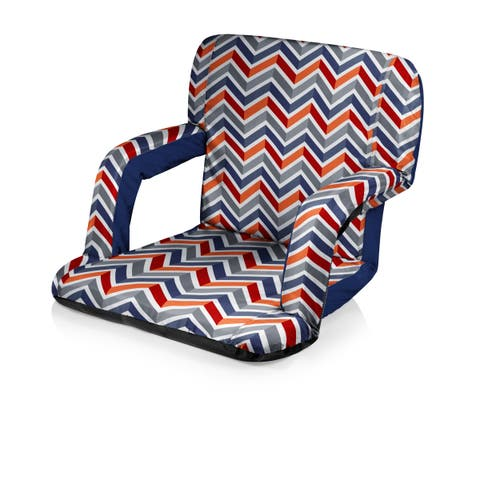 Picnic Time Vibe Collection Ventura Portable Recliner Chair