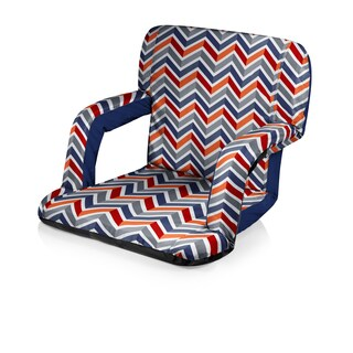 Picnic Time Vibe Collection Ventura Portable Recliner Chair Stadium Seat