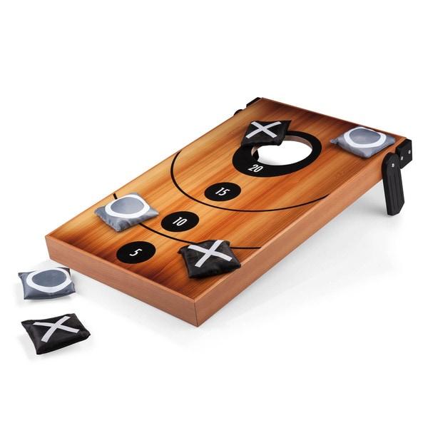 Picnic Time Mini Bean Bag Throw with Bean Bag Toss and Tic-Tac-Toe Designs