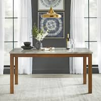 Simple Living Edina Dining Table - Walnut