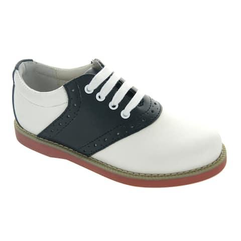 Leather Saddle Shoe