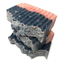 Bay Rum Activated Charcoal And Rose Clay Healing Bar