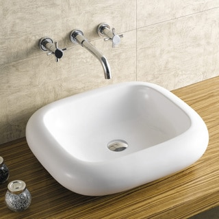 Acquatech Latitude 22-inch Rectangular Ceramic Sink