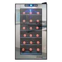Element by Vinotemp 18-bottle Mirrored Thermoelectric Wine Cooler