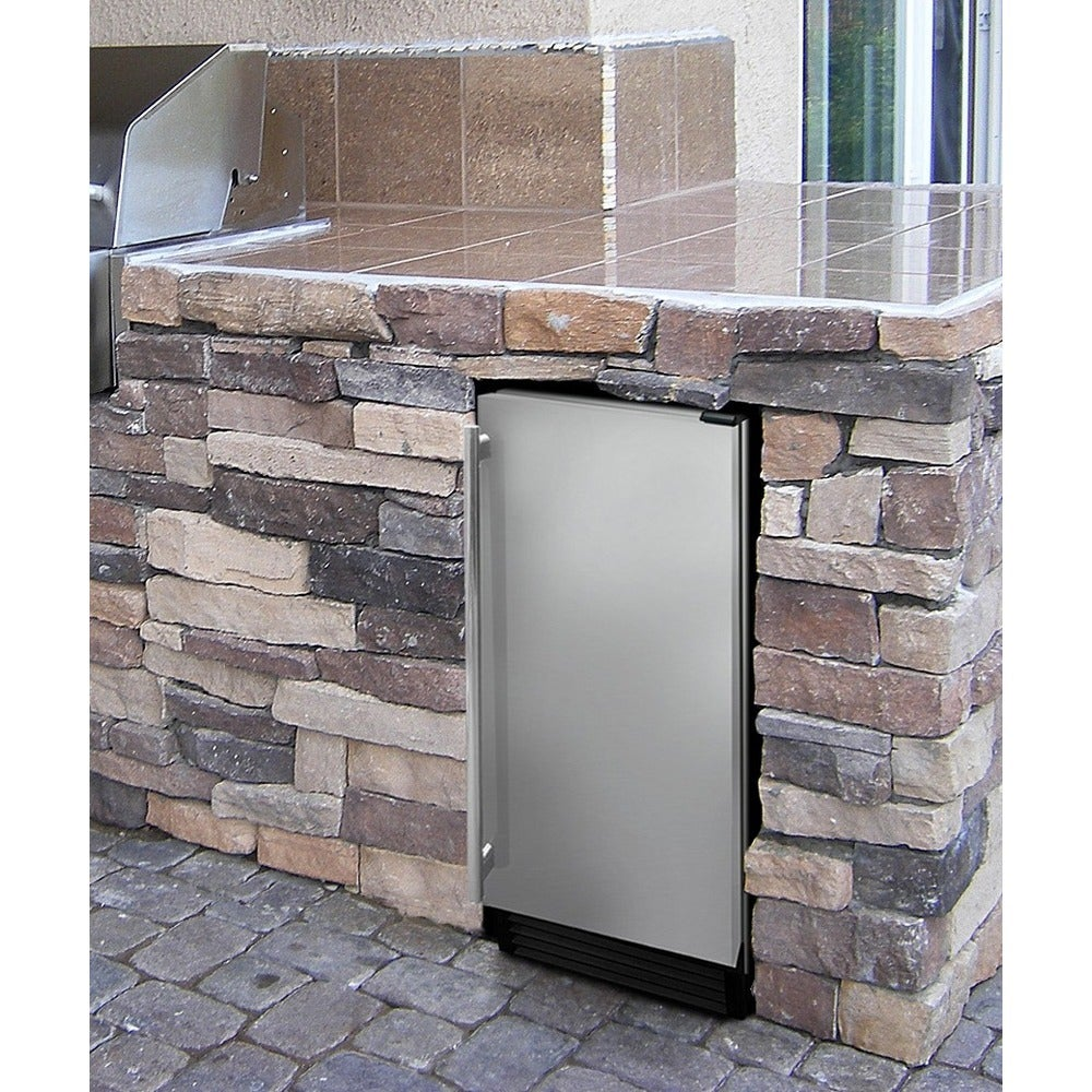 Epicureanist 3.1 Cubic Foot Outdoor Refrigerator (Stainle...