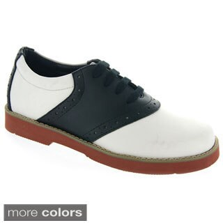 Leather Saddle Shoes