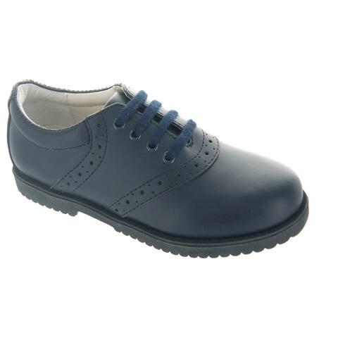 Leather Saddle Shoes
