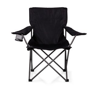 Picnic Time PTZ Black Camp Chair
