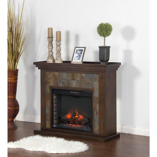 Sunny Designs Santa Fe Fireplace Media Console