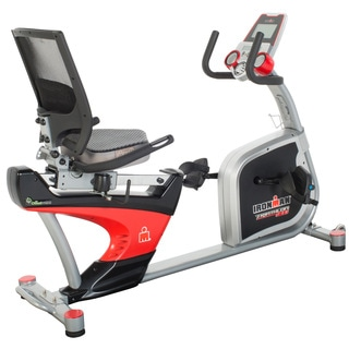Ironman Triathlon X-Class 410 Recumbent Bike with Equipment Mat
