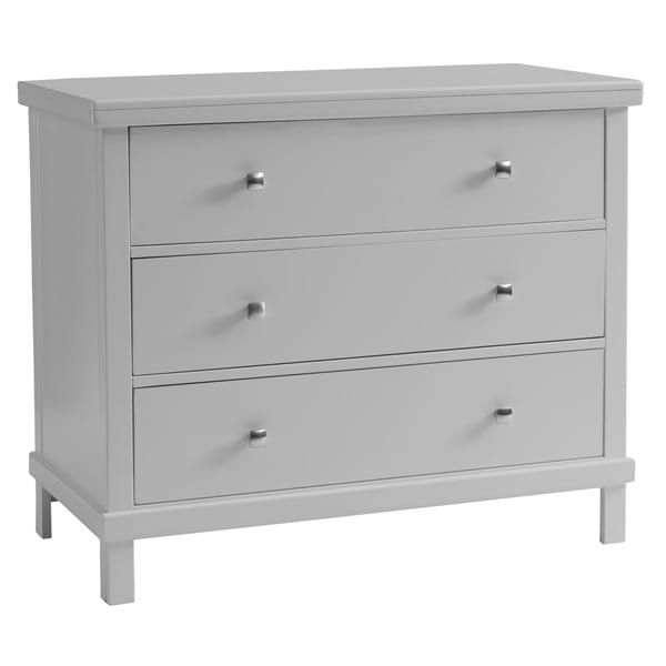 Sealy Bella 3 Drawer Contemporary Grey Dresser Free
