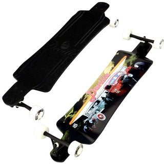 Deville Diner 39.5-inch Micro Drop Deck Longboard