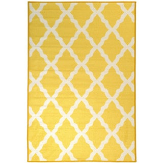 Yellow Geometric Rugs Amp Area Rugs To Decorate Your Floor