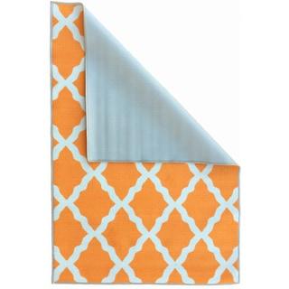 Ottomanson Glamour Moroccan Trellis Area Rug (5' x 6'6)