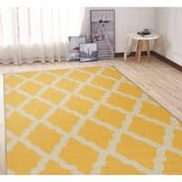 Ottomanson Glamour Moroccan Trellis Area Rug (5' x 6'6) - 5' x 6'6