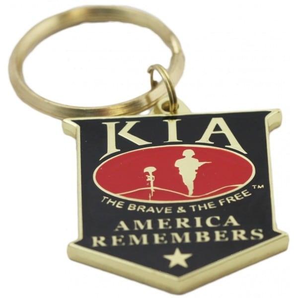 KIA America Remembers Key Ring