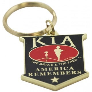 KIA America Remembers Key Ring
