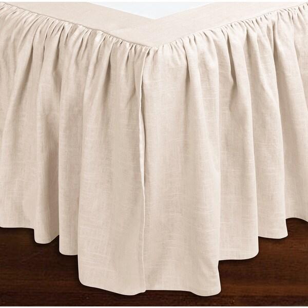 Sandy Wilson Woven Bedskirt