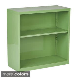 """28"""" Fun Color Metal Bookcase