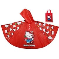 Hello Kitty Poncho Rain Coat