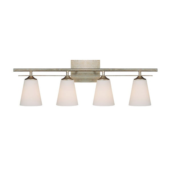 Capital Lighting Soho Collection 4-light Painted Winter Gold Bath/Vanity Light