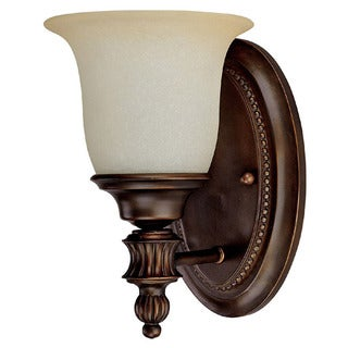 Capital Lighting Traditional 1-light Burnished Bronze Wall Sconce