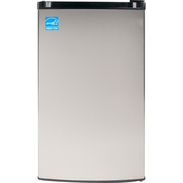 Equator-Midea ADA Compliant Easy Defrost 3 Cu.ft Upright Mini Freezer in Stainless Steel Finish
