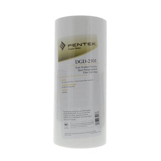 Pentek DGD-2501 Dual Gradient Sediment Water Filters (10-inch x 4.5-inch)