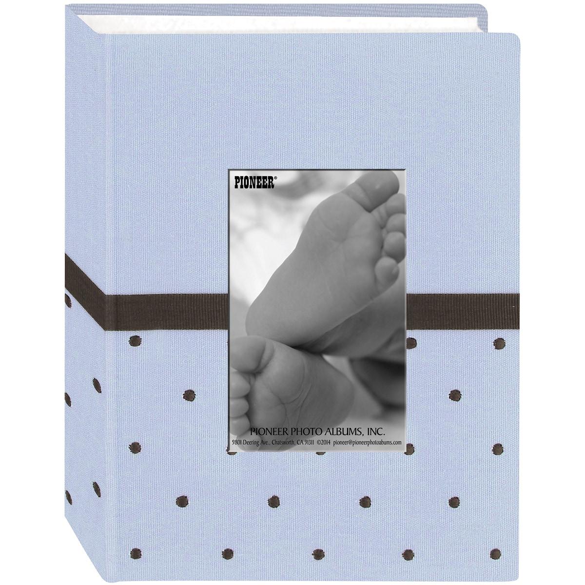 Pioneer Photo Albums Pioneer Dot Fabric Frame 4inX6in Pho...