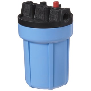 Pentek 158002 0.38-inch #5 Blue/ Black Water Filter Housing with Pressure Release