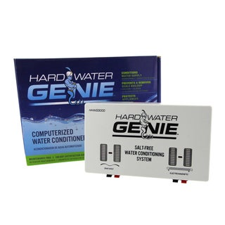 Hard Water Genie No Salt Treatment Conditioner Softener and Descaler System