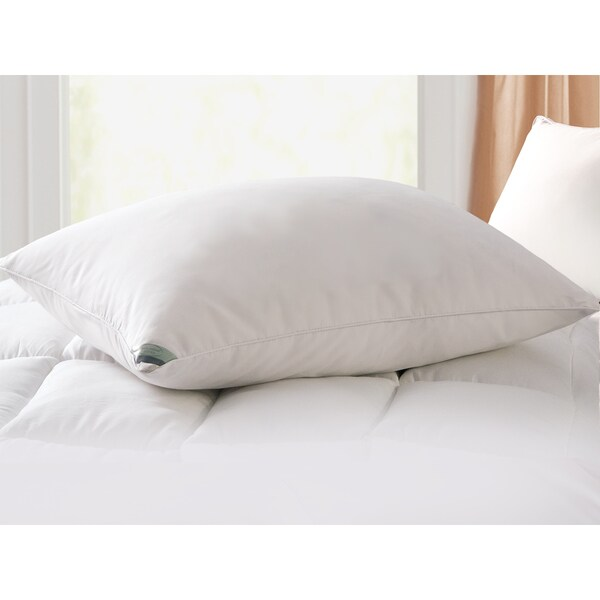 kathy ireland home microfiber down pillow