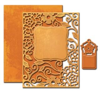 Spellbinders Nestabilities A2 Card Creator DiesTudor Rose
