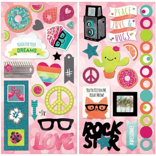 #Forever Young SelfAdhesive Chipboard