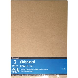 Crescent Recycled Chipboard Value Pack 3/Pkg9inX12in