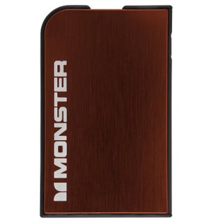 Monster Mobile PowerCard 1650mAh Portable Battery for Apple iPhone and Samsung Galaxy (Option: Red)