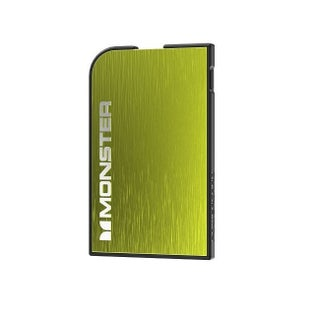 Monster Mobile PowerCard 1650mAh Portable Battery for Apple iPhone and Samsung Galaxy