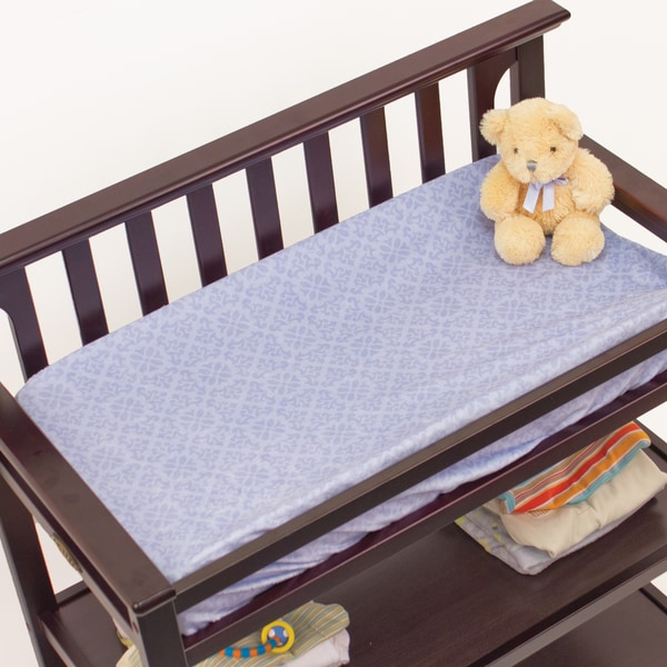 Nurture Imagination Elephant Jubilee Velour Changing Pad Cover