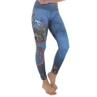 Luna Jai Women's 'Lady Peacock' Active Athletic Pants