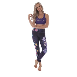 Luna Jai Women's 'Joyful Dawn' Active Athletic Leggings