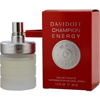Davidoff Champion Energy Men's 1-ounce Eau de Toilette Spray