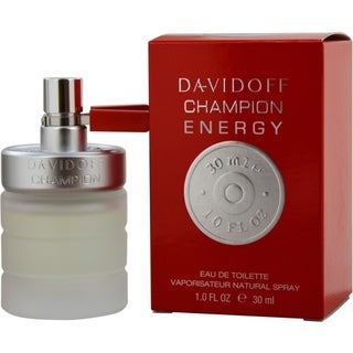 Zino Davidoff Champion Energy Men's 1-ounce Eau de Toilette Spray