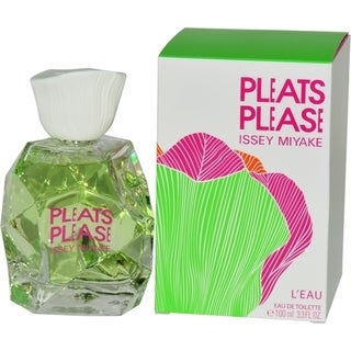 Issey Miyake Pleats Please L'Eau Women's 3.3-ounce Eau de Toilette Spray