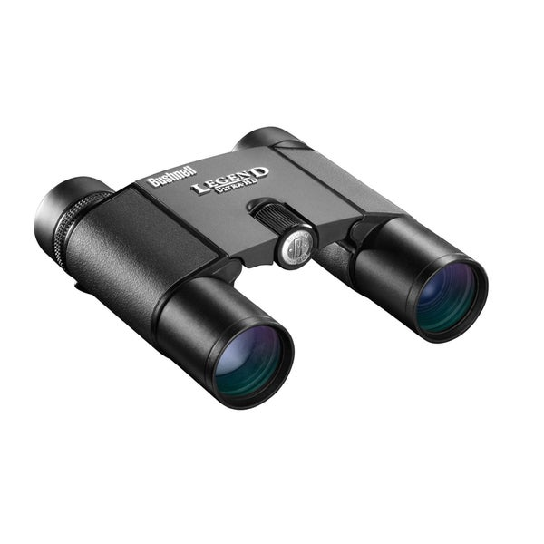 Bushnell Legend Ultra HD Compact Folding Roof Prism Binoculars 10 x 25-mm, Black
