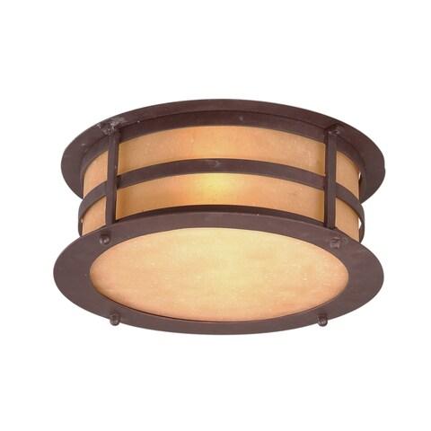 Troy Lighting Aspen 2-light Flush Mount
