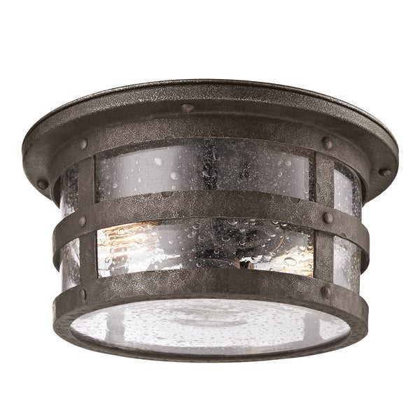 Troy Lighting Barbosa 2-light Flush Mount